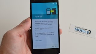 Watch Android 5.0 Tap & Go Restore Your Phone in Minutes