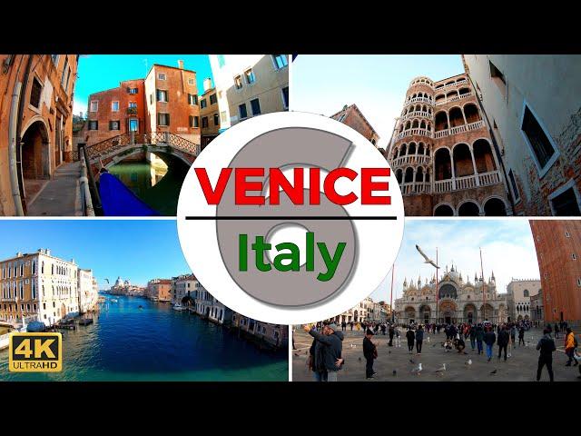 Venice, Italy Walking Tour Part 6 (4k/60fps)
