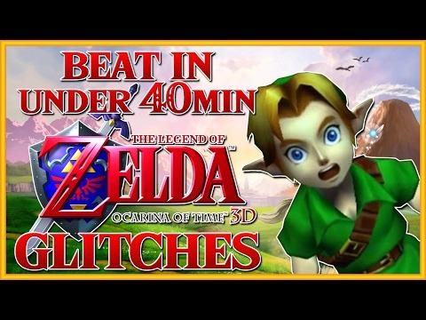 Beat Ocarina of Time 3D in Under 40min - Ocarina of Time Glitches