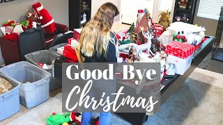 GOOD BYE CHRISTMAS // Cleaning Motivation // Cleaning Mom