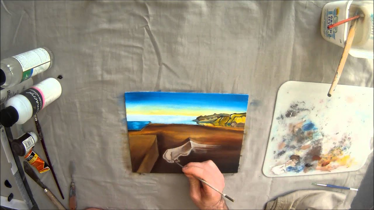 The Persistence of Memory - Salvador Dali Timelapse Reproduciton ...