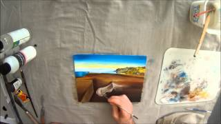 The Persistence of Memory - Salvador Dali Timelapse Reproduciton by Yoni Shor