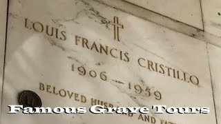 FAMOUS GRAVES: Remembering Abbott & Costello And Others At Calvary Mausoleum In Los Angeles, CA