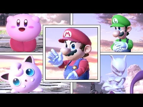 Every Character's Clapping Animation In Super Smash Bros Ultimate (No Contest)