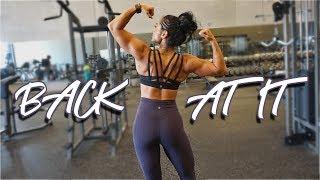 BACK AT IT | New Massage Practice | Audacious Bikini Prep Ep. 8