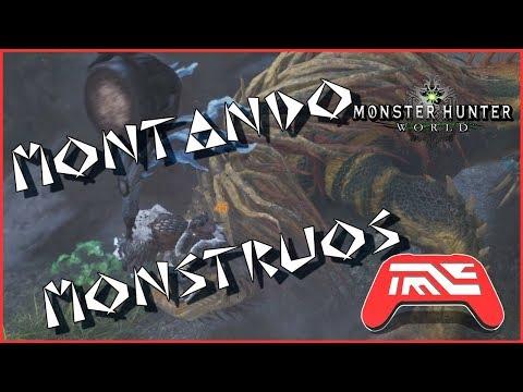 Monster Hunter World: Consejos para novatos #04 | Montando monstruos | Tutorial-Guía