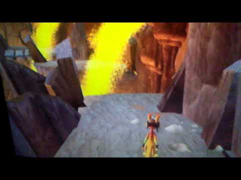 Jak3 Daxter attacks and jumps