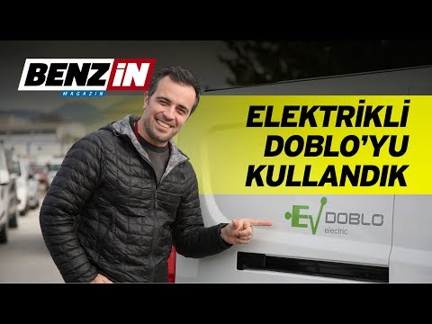 All new electric Fiat Doblo review test drive