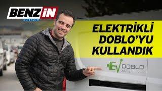 Elektrikli Fiat Doblo'yu kullandık   Fiat yarış otomobilleri turu   VLOG