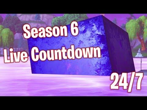 Fortnite Season 6 Live Countdown (24/7) - YouTube