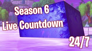 Fortnite Season 6 Live Countdown (24/7)