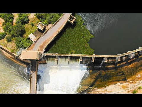 Hartbeespoort Dam Overflowing, Pretoria, South Africa