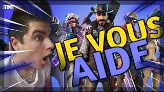 (FORTNITE SAUVER THE WORLD) I HELP YOU FOR YOUR MISSIONS AND WIN 10,000 V-BUCK A 4.3K YOUTUBE