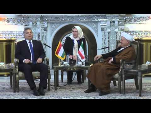 Hungarian PM Viktor Orban in Iran