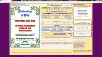 Einladungskarten zum Geburtstag kostenlos selbst gestalten und ausdrucken