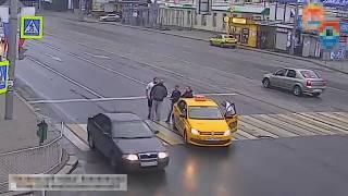 Драка на дороге | пешеходы против водителей