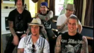 Avenged Sevenfold MTV INTERVIEW (FAVORITE SONG) Part 5