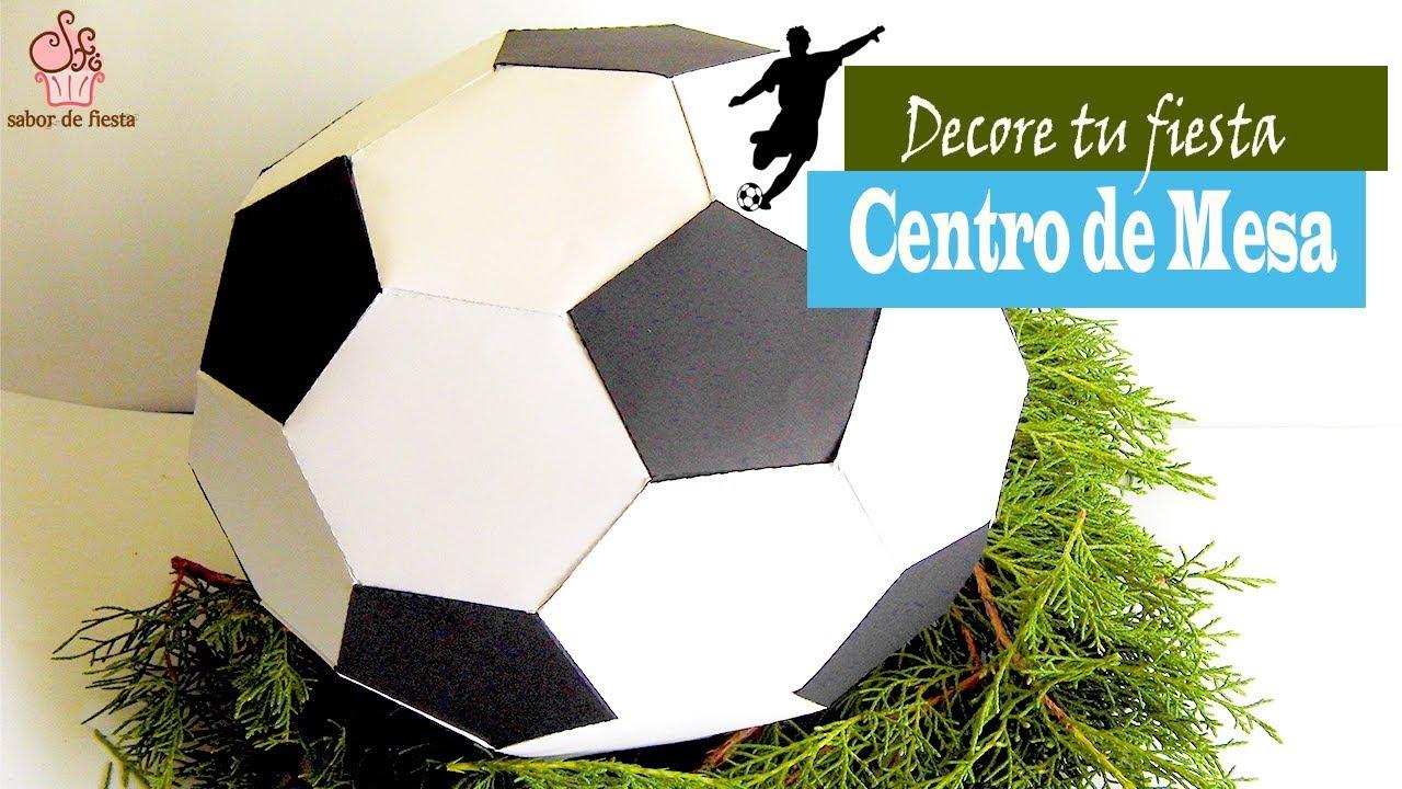 Como Hacer Un Balón De Fútbol De Papel