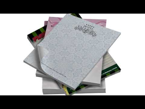 Full Color Custom Personalized Notepads & Memo Pads - Houston TX