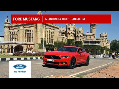 The Ford Mustang visits the Garden City of India- Bangalore