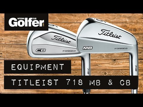 Titleist 718 MB & CB Irons Review