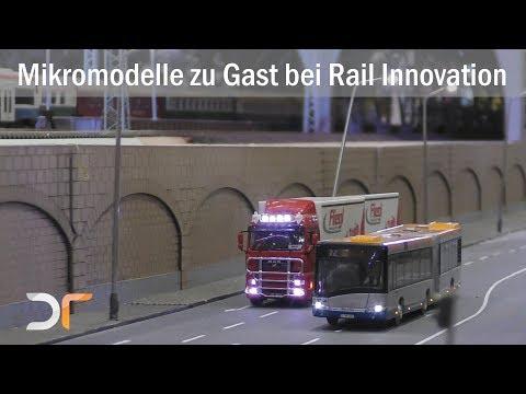 Mikromodelle auf der Anlage von Rail Innovation auf der Modell Hobby Spiel | RC 1:87