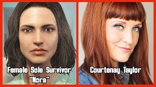 Characters and Voice Actors - Fallout 4