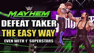 WWE Mayhem - How To Defeat The Undertaker Unstoppable Giant Event The Easy Way