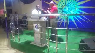 Apostle David Adebowale ministering live at the March 2018 Edition Of SHILOH NIGHT