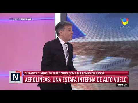 Fraude en Aerolíneas: se quedaron con $9 millones