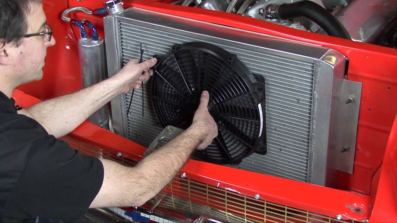 How And When To Use An Auxiliary Electric Fan Youtube Viii Wiring Diagram On Hayden Dual