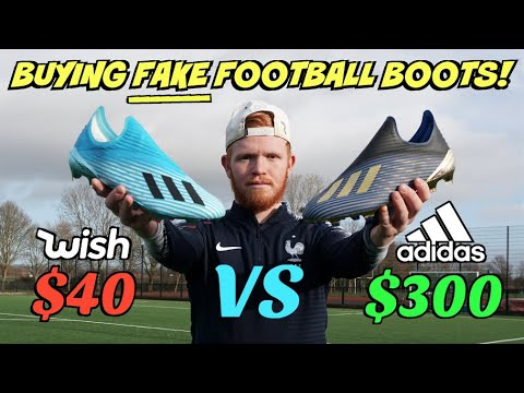 Testing FAKE Vs REAL FOOTBALL BOOTS - What's The Difference?