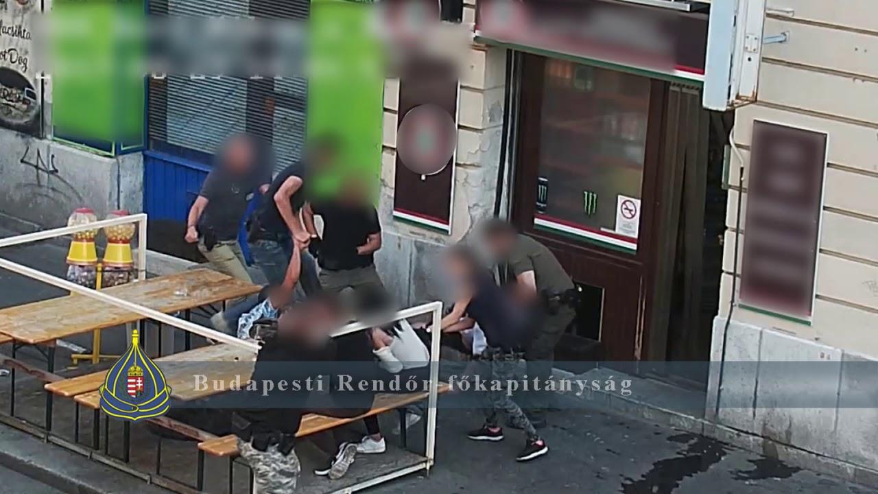 Kábítószer-kereskedőt fogtak el a józsefvárosi rendőrök - YouTube