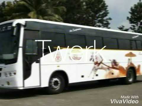 karnataka state road transport corporation (KSRTC) Buses now and then