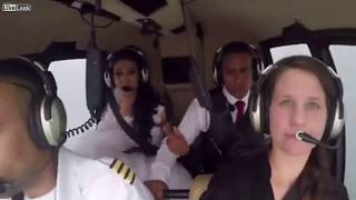 Shocking footage Emerges Of Bride And Her Brother Killed In Helicopter Crash  On Way To Wedding