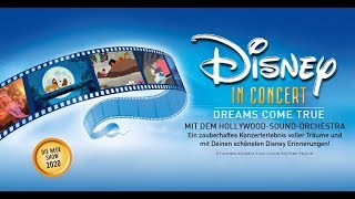 Disney in Concert - Dreams Come True - Live 2020 - Trailer