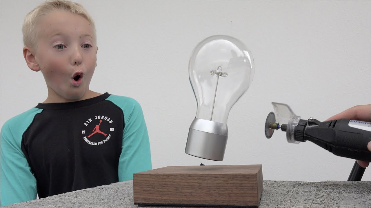 What S Inside A Levitating Light Youtube
