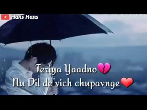 New Punjabi Sad Song Whatsapp Status Video 2019 | New Punjabi Sad Status 2019 #1
