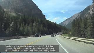 Video #3 Yoho National Park (Trans-Canada-Highway)
