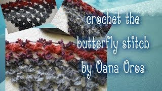 crochet butterfly stitch