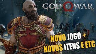 GOD OF WAR NOVO JOGO + COMPLETO NOVOS ITENS E ETC
