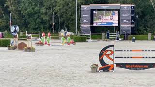 Jaguar double clear and placed in 145 2** GP Valkenswaard
