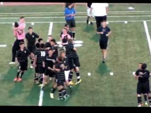Pueblo South High School Varsity Soccer DEFEAT the Centennial High School Bulldogs (2-1) 10-15-12