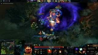 Team Fight By The Radiant vs The Dire :D @Dota2