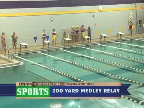 CMNtv Sports - Girls Swim & Dive - Avondale vs Oxford - Sept 18, 2014