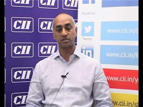 Mr Jay Galla,  MD, Amara Raja Group & Member of Parliament from Guntur, Andhra Pradesh