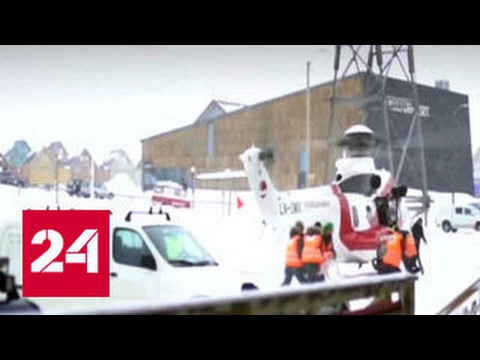 ЧП на Шпицбергене: все россияне, провалившиеся под лед, спасены