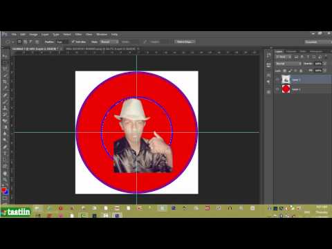 how to draw a circle in photoshop cs6