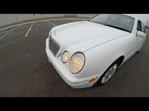 4K Review 2001 Mercedes E320 Virtual Test-Drive & Walk-around