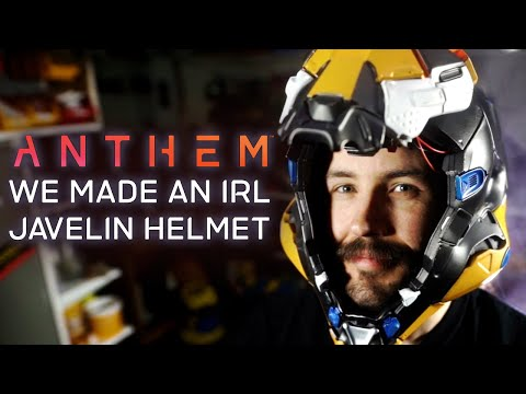 How To Make An Anthem Javelin Helmet In Real Life
